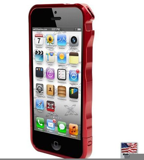Practical drivers function iPhone 5 metal frame protection case