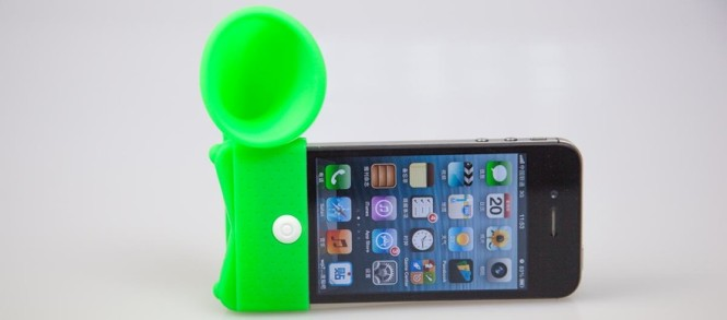 Easy PA iPhone speaker base
