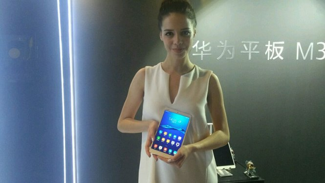 Huawei Tablet M3 domestic today hand in hand brought Harman Caton audio-visual feast